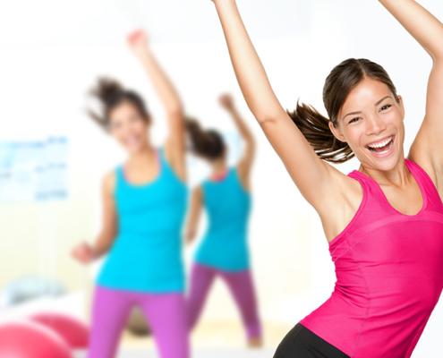 Fitness-Power beim SCP